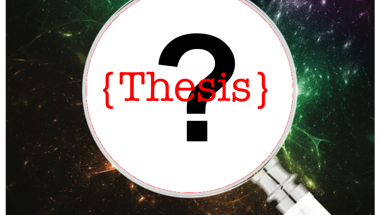Whose Thesis is it Anyway?