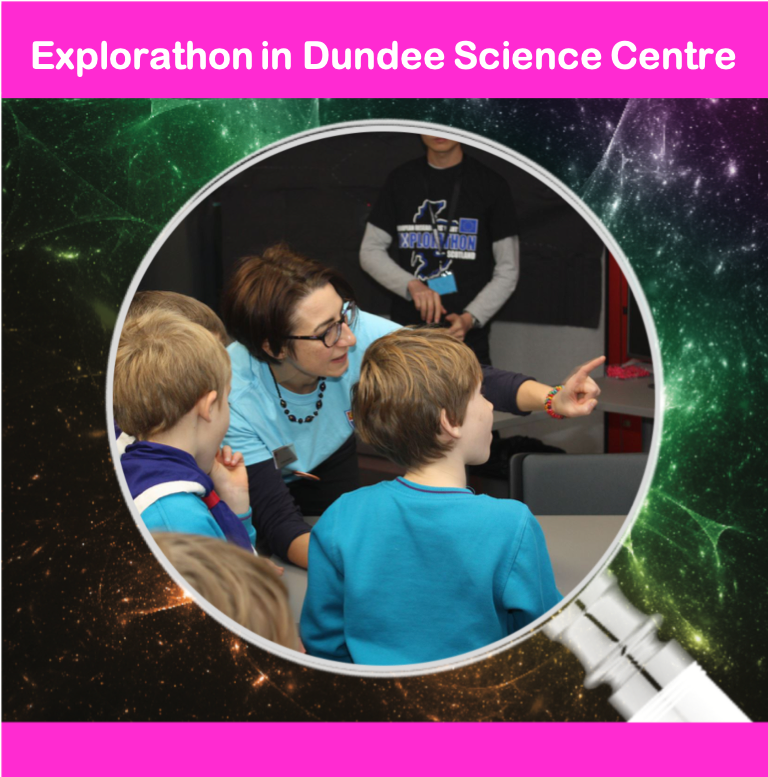 Explorathon in Dundee Science Centre