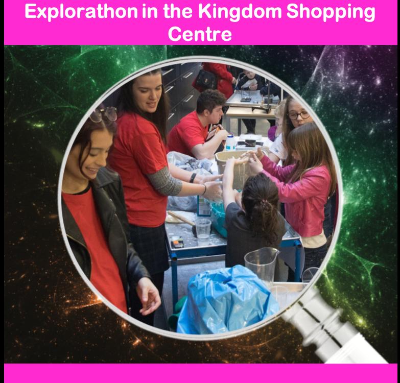 Explorathon in the Kingdom Shopping Centre