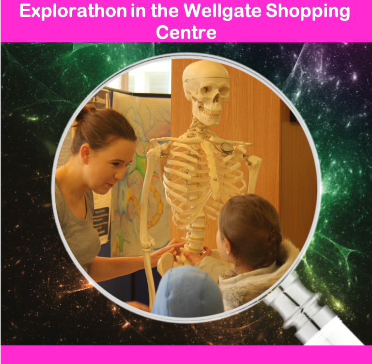 Explorathon in the Wellgate Shopping Centre