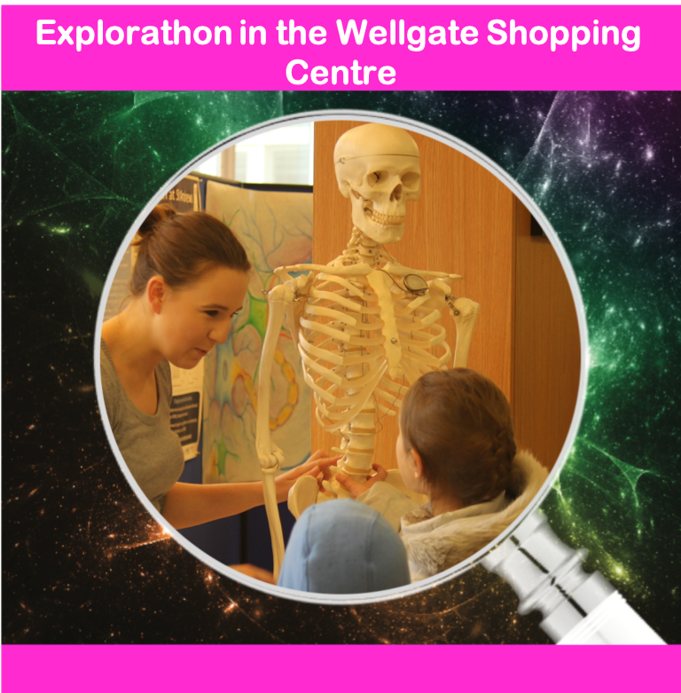 Explorathon in the Wellgate Shopping Centre
