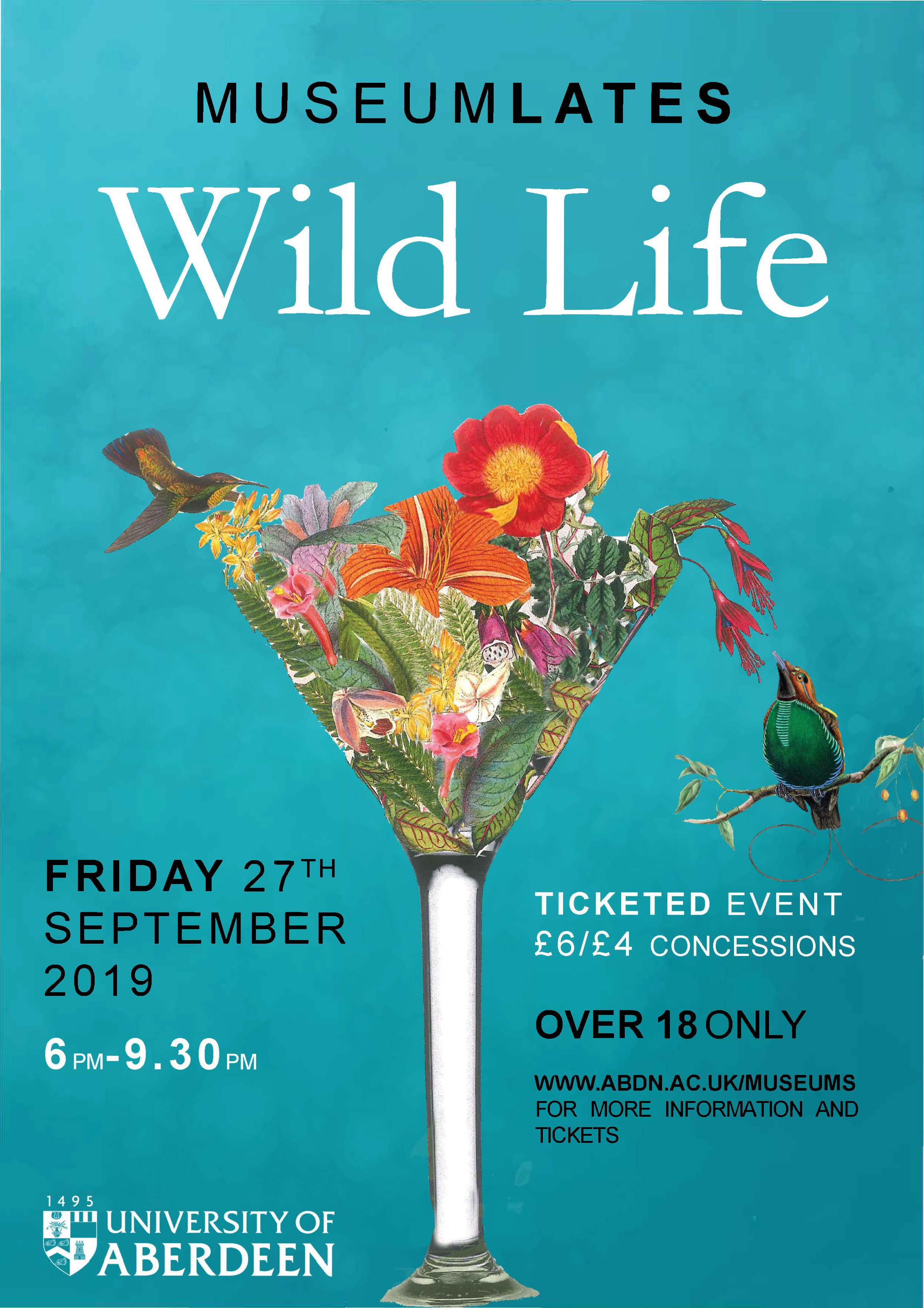 Late Night at the Museum – Wild Life! Museum Late