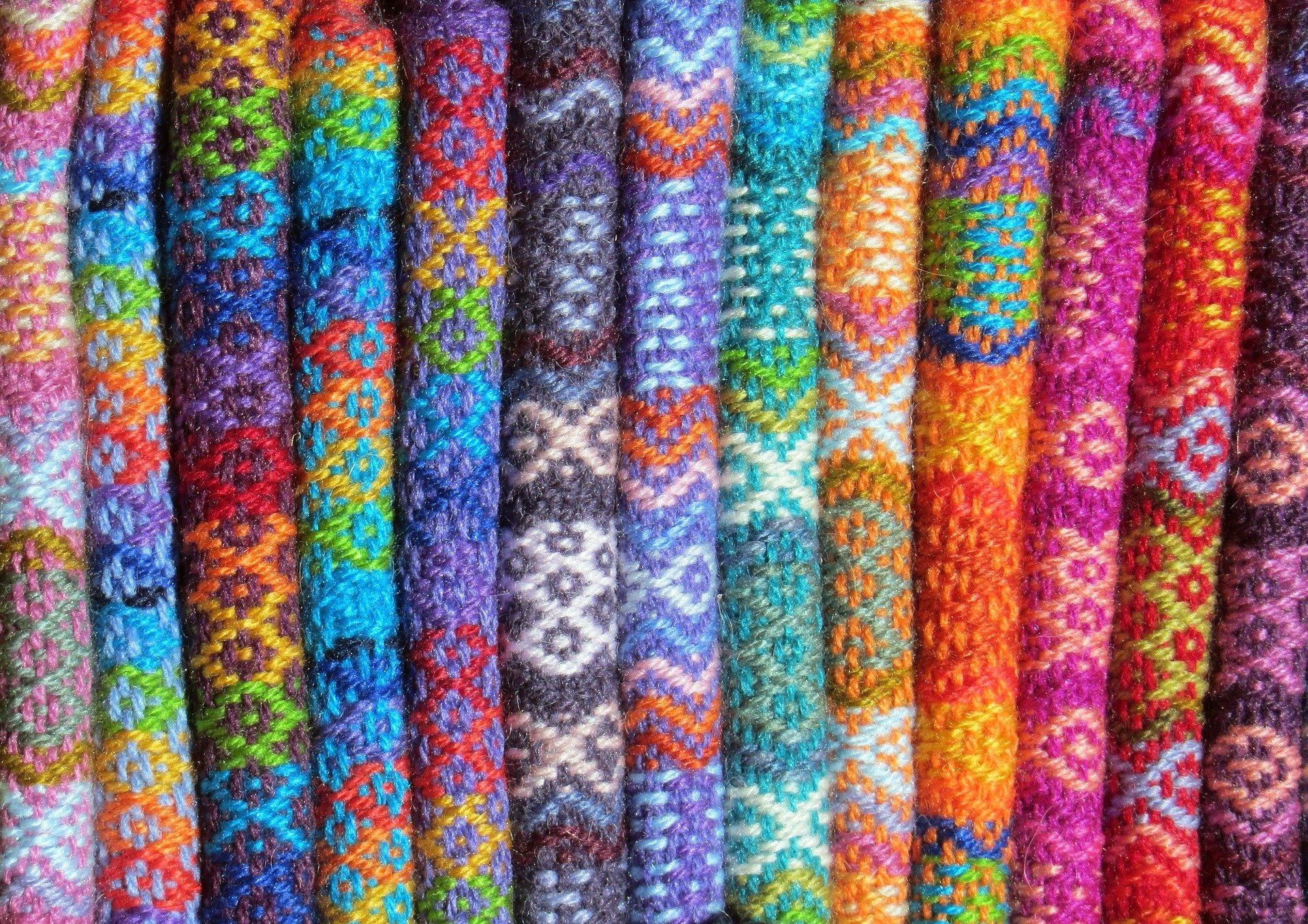 Spinning a Yarn about Hidden Mathematics