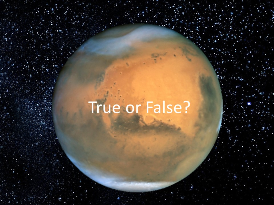 The Martian – Science Fact or Science Fiction